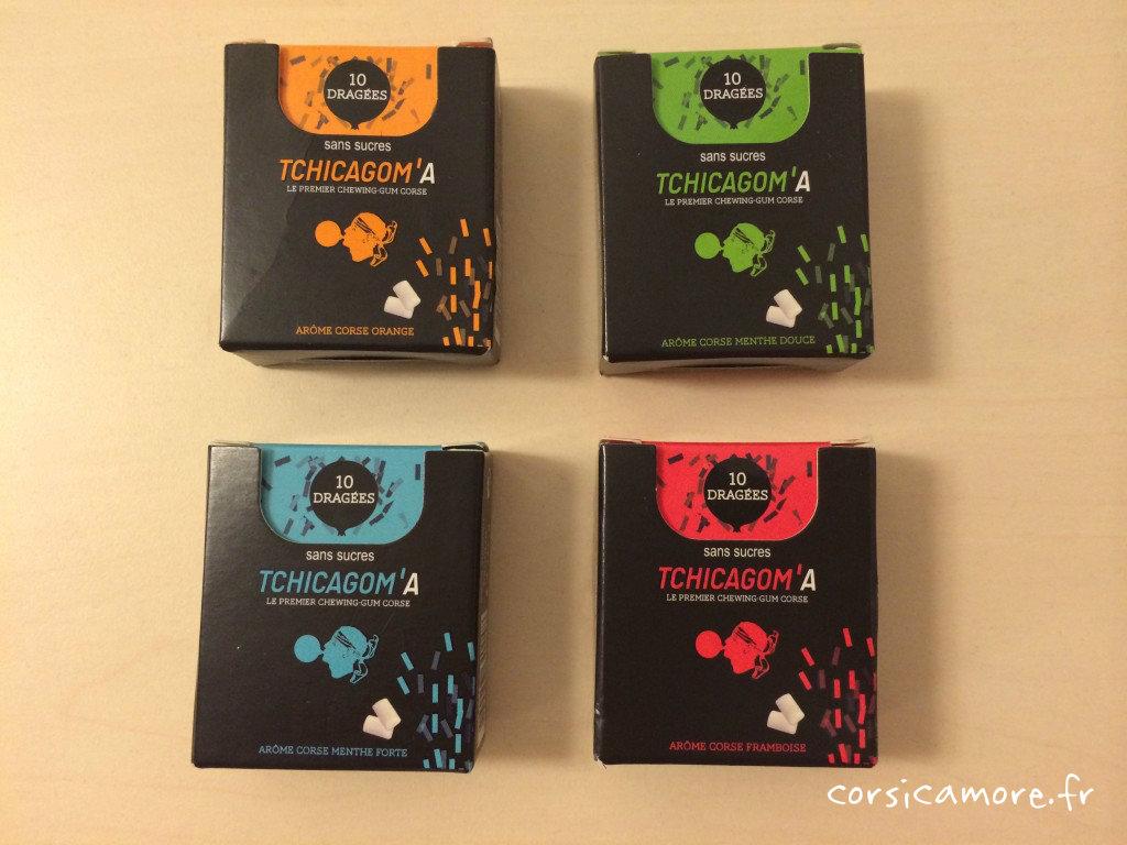 Les 4 parfums Tchicagoma