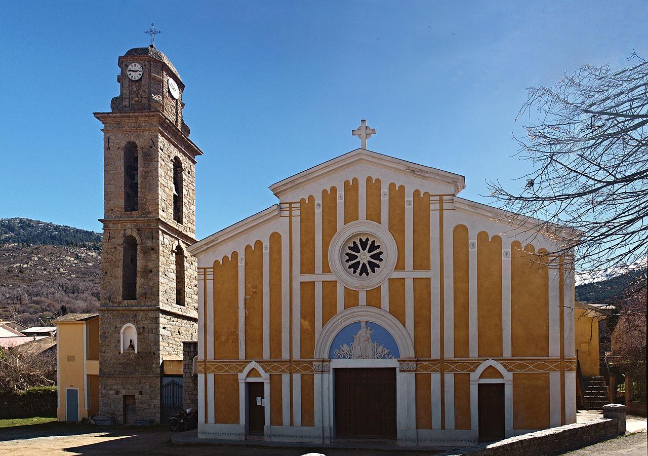 L'église de la Natvité de Casamaciollu ©Pierre Bona