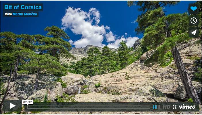 Bit of Corsica...le time-lapse grande classe.