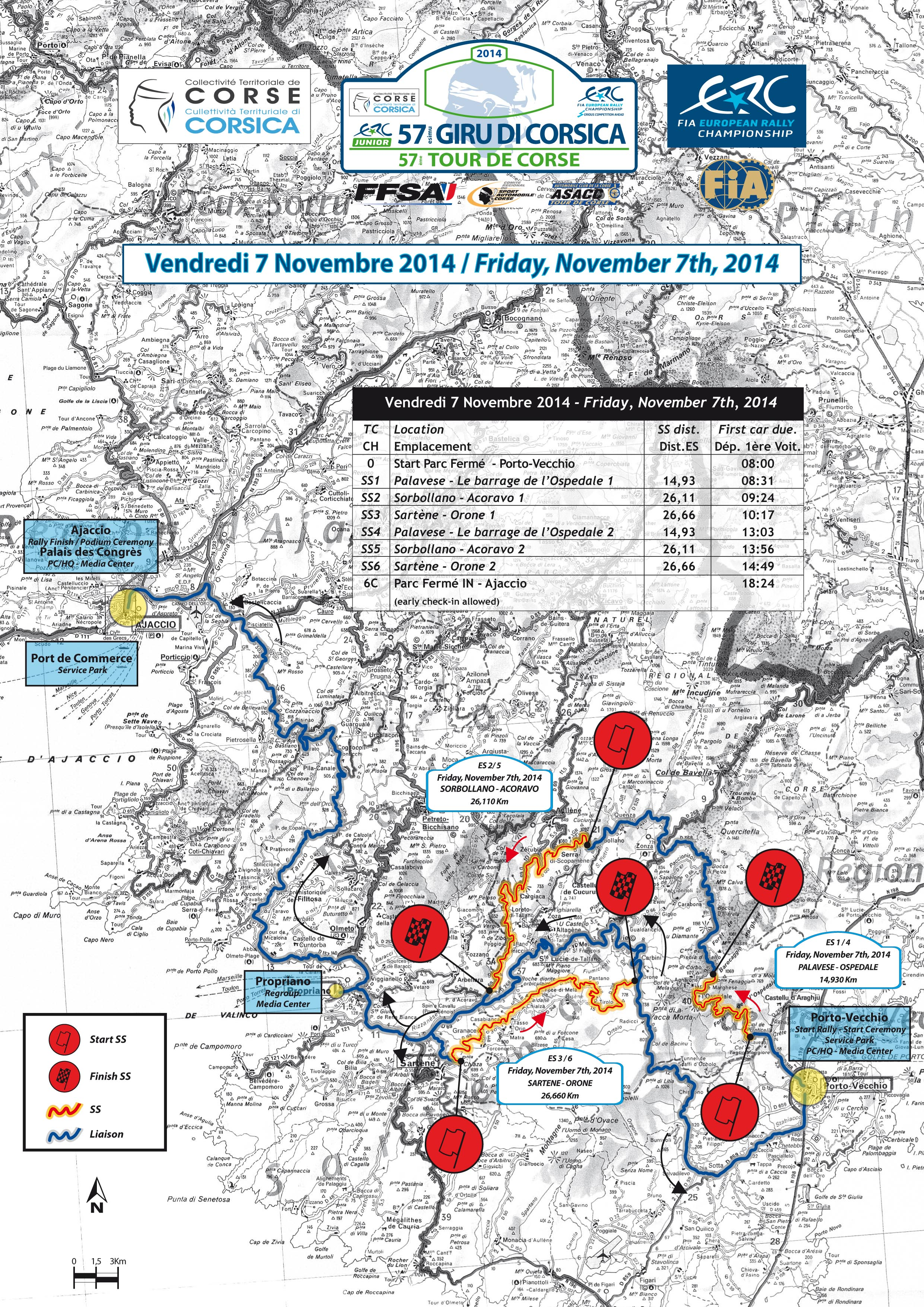 57 eme Rallye du Tour de Corse