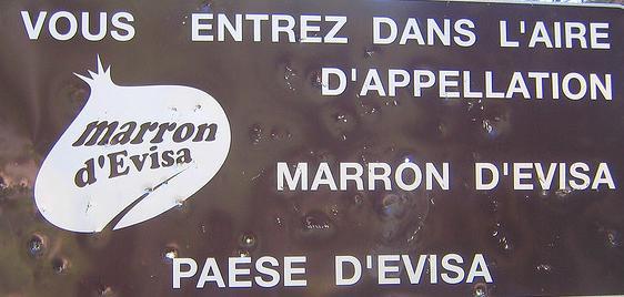 La Foire du Marron à Evisa