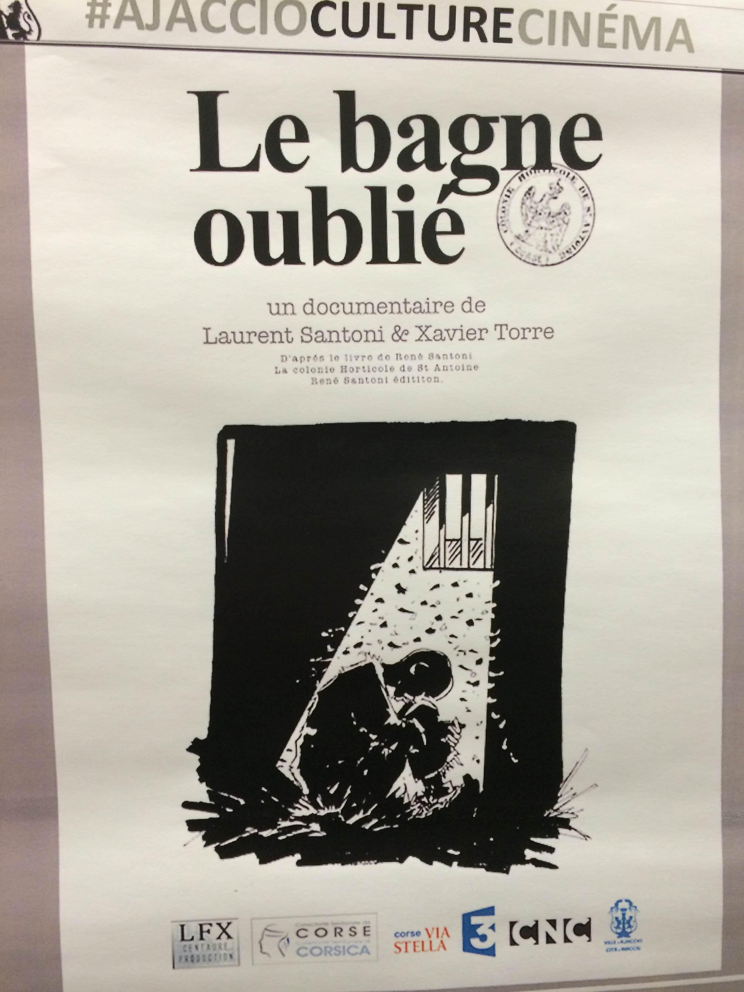 L'affiche du film Le Bagne Oublié