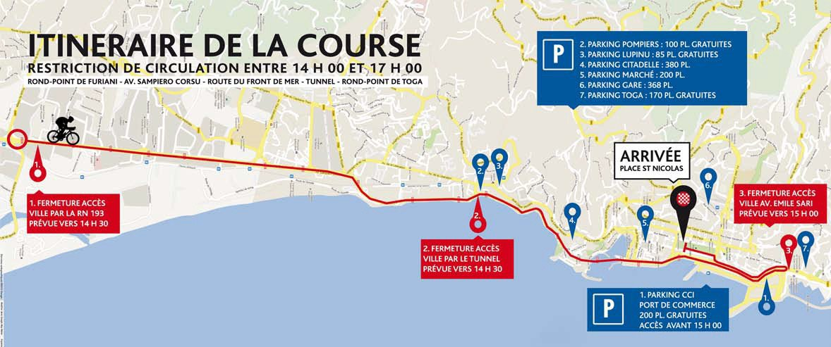 Classica Corsica, la corse terre de vélo