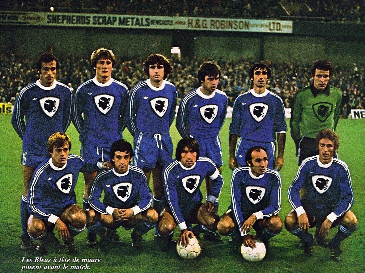 Bastia 1978 contre Newcastle