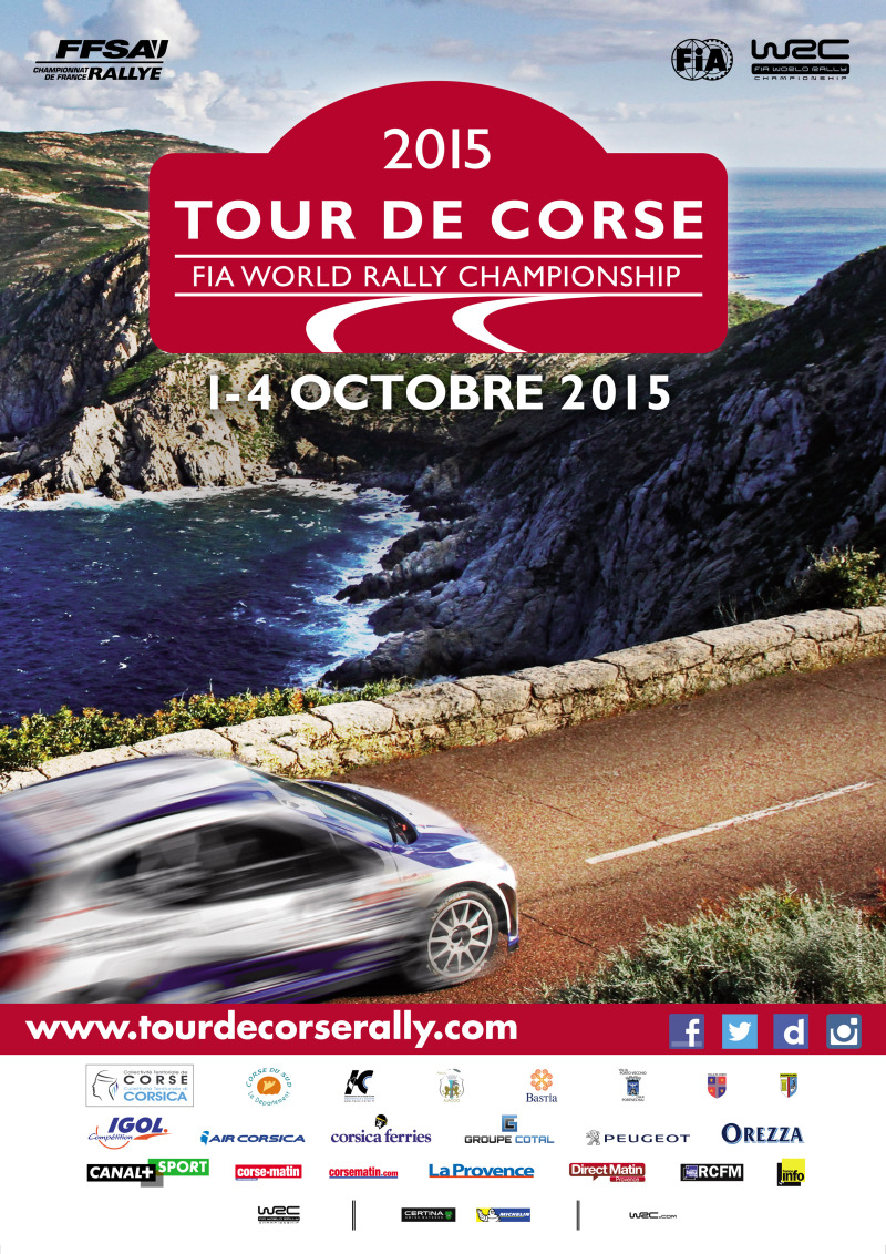 Tour de Corse - Rallye WRC 2015