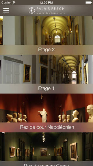 L'application mobile du musée Fesch