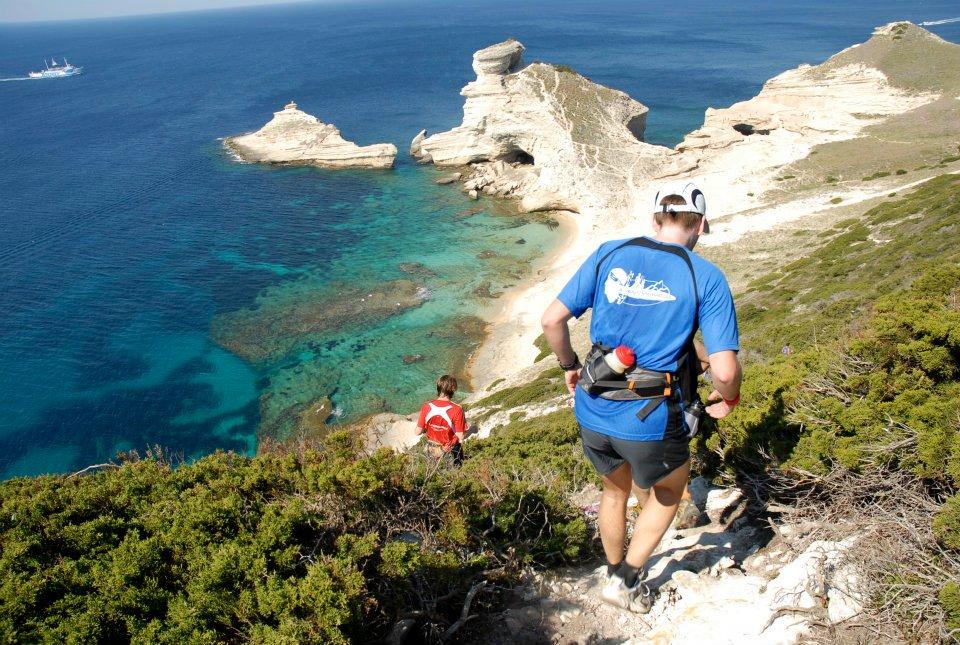 Trail des falaises à Bonifacio
