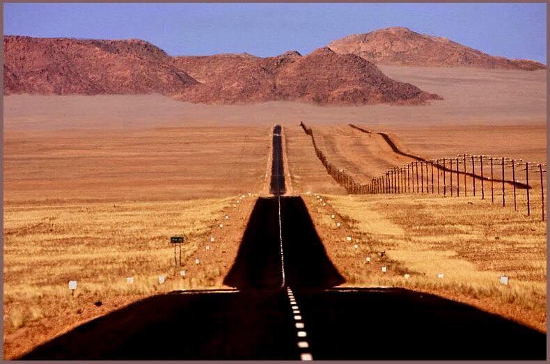 Un corse à fond en Namibie