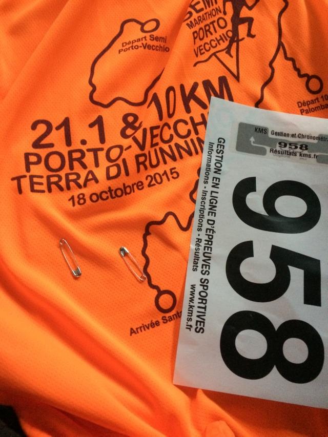 On a testé pour vous : le semi marathon de Porto Vecchio