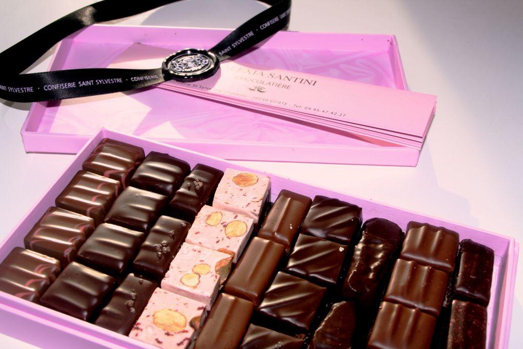 Les chocolats d'Alexia Santini