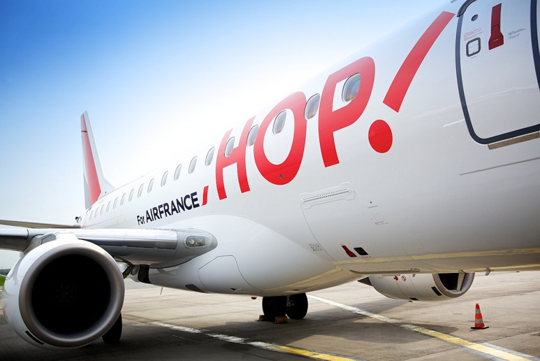Hop, la filiale d'Air France arrive en Corse