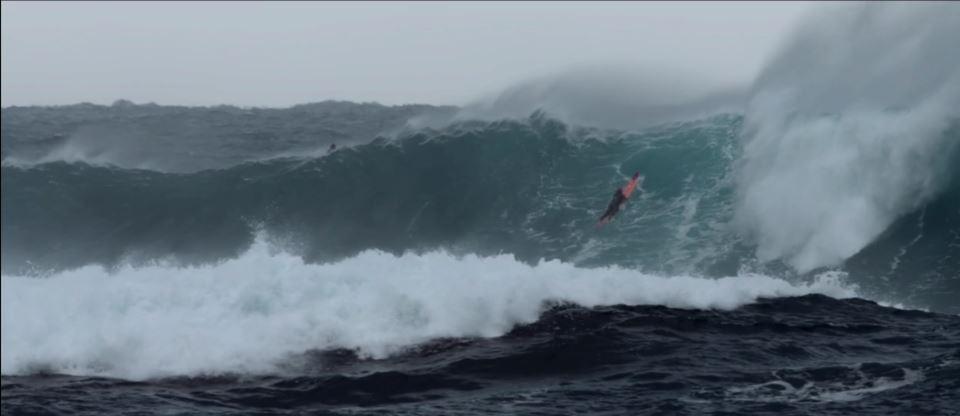 Surf en Corse, tempête à Capo di Feno