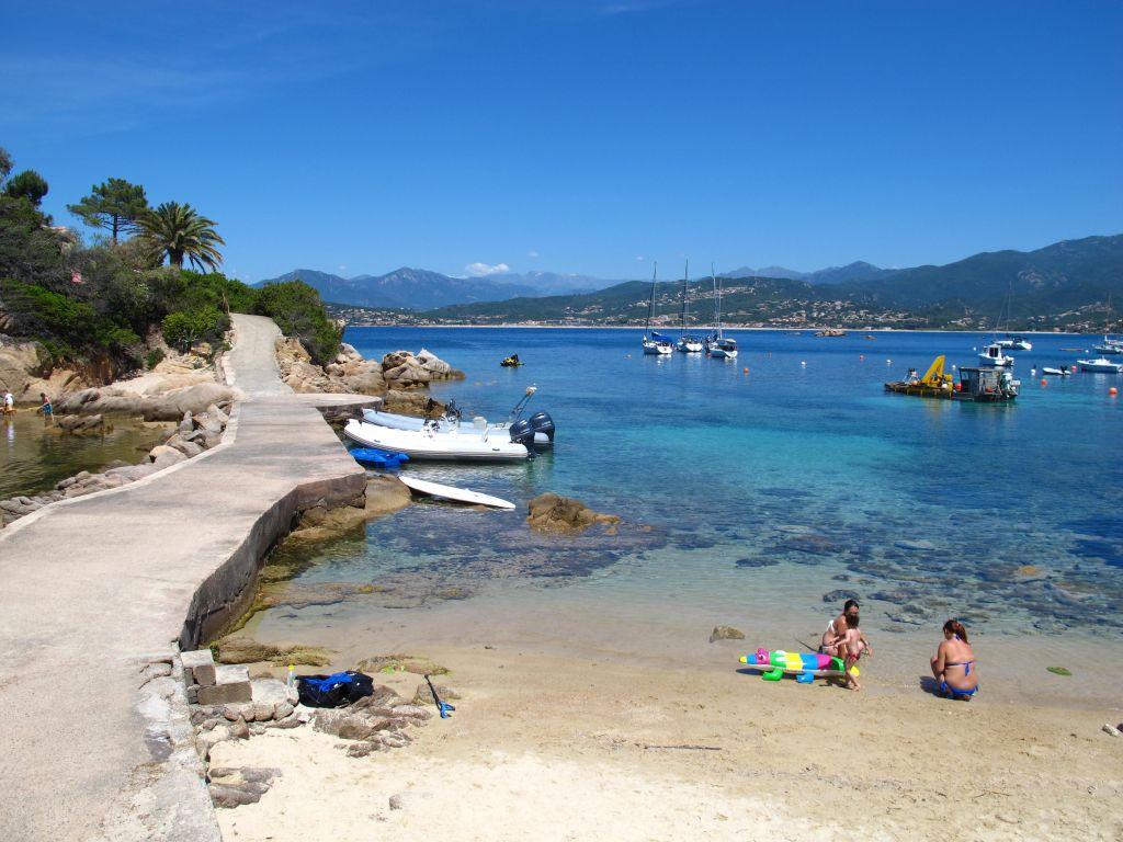 La plage en Corse