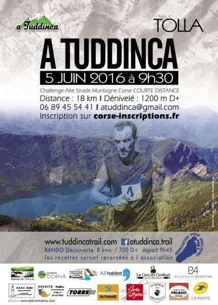 Trail A Tuddinca à Tolla en Corse