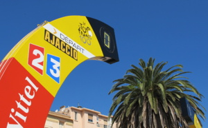 Le tour de France à Ajaccio #tdf #ajaccio