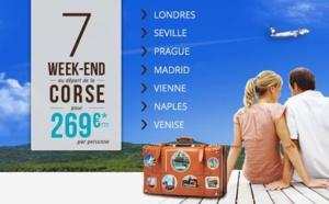 Air Corsica, 7 vols hivernaux directs au départ de Corse
