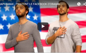Raph et Max piratent le facebook d'Obama