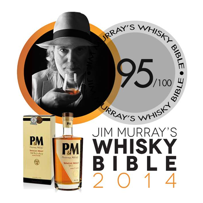 Le critique Jim Murray note le whisky corse